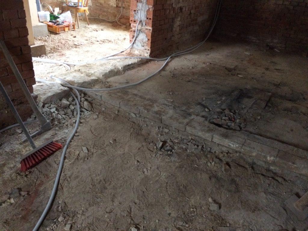 Just Fußboden Bad Wünnenberg ~ Fußboden ziegel » ziegel fußboden lack holz offene küche regale mit